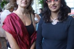 Anna balatti e Shreedevi Deshpande Puri
